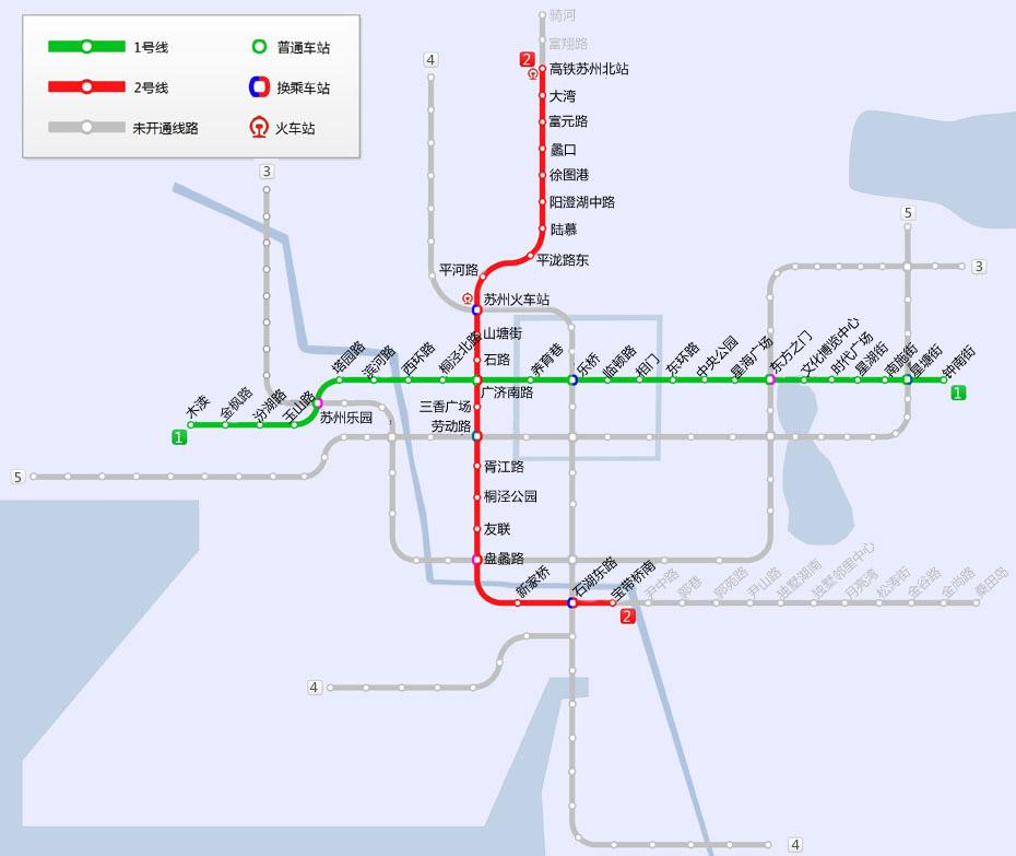 已扫描到以下内容 苏州地铁运营线路图 点击图片可放大查看,收藏!图片